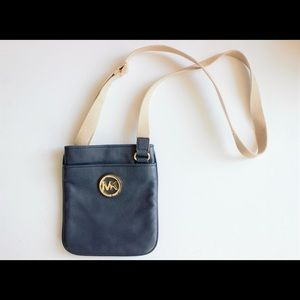 Michael Kors Fulton Leather Swingpack Crossbody